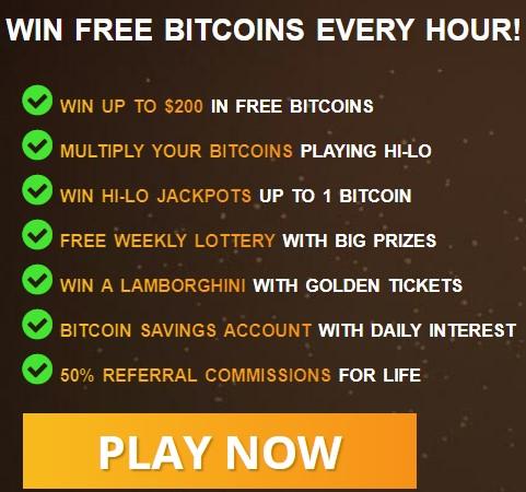 Earn free satoshi every hour !!